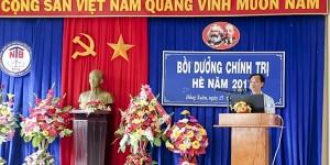 Đ/c Nguyễn Văn Thời – UVBTV Huyện ủy, Trưởng Ban Tuyên giáo Huyện ủy
