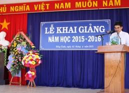 Đ/c Võ Cao Phi – Phó Bí thư Huyện ủy, Chủ tịch UBND huyện Đồng Xuân